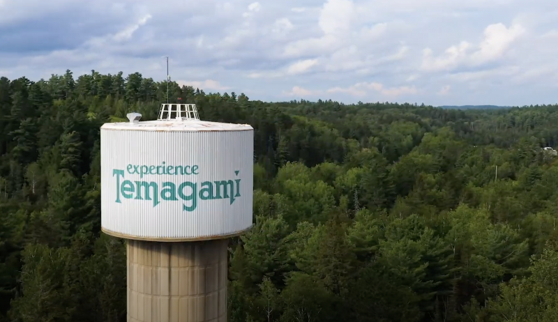 Temagami's Water Tower