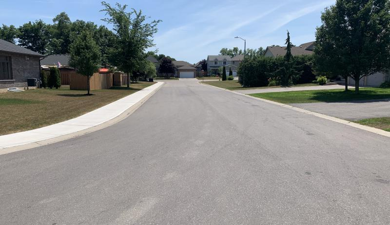 Road Reconstruction in Tillsonburg