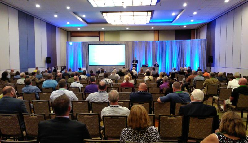 Photo showing the audience attending the concurrent session